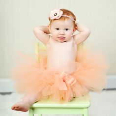 Zilly Bean Just Peachy Tutu