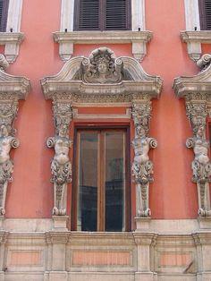 Roma, Palazzo dei Pupazzi- Via di Capo le Case