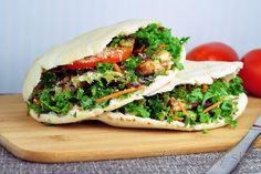 Pita plnená rybou a šalátom Low Calorie Recipes, Tofu, Mexican, Fitness, Meals, Ethnic Recipes, Zumba, Pilates, Diet