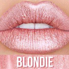 Blondie metallic velvetine by lime crime
