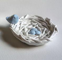 Dit is mijn inspiratie voor mijn vogeltjes. Ook heb ik boven op mijn hoofd een vogel die op een nestje zit, net zoals hier.
