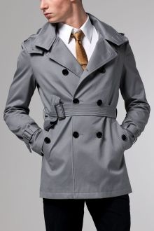 Gray Trenchcoat Guy Style 0bde6d4ba53a1
