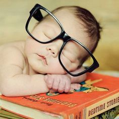 Nerd in training. This is going to be my kid! haha