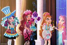 Let's go say hi to the new girl Meeshell mermaid  tea rrific idea .