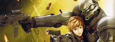 Facebook Timeline Cover Anime Games - Appleseed Ex Machina
