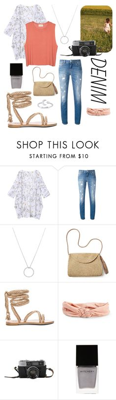 """Dandelion Denim"" by gloeser ❤ liked on Polyvore featuring American Vintage, Dolce&Gabbana, Roberto Coin, Mar y Sol, Aéropostale and Witchery"