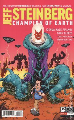 Jeff Steinberg Champion of Earth (2016) 1B Oni Press Modern Age Comic Book covers
