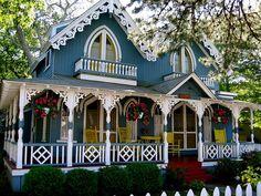Marthas Vineyard Gingerbread house's