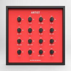 """My Life, My Decision"""" via onreact Smart Art, Installation Art, Life, Art Installation"""