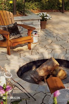 Get inspired with these patio ideas. Browse our photo gallery of beautiful patios, from small DIY projects to professionally designed outdoor rooms. Patio Plan, Patio Ideas, Homemade Outdoor Furniture, Stone Patio Designs, Patio Edging, Outdoor Rooms, Outdoor Decor, Patio Layout, Brick Patios