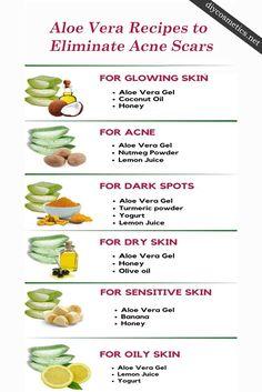 Face Skin Care, Diy Skin Care, Skin Care Tips, Aloe Vera Piel, Aloe Vera For Skin, Aloe Vera Face Mask, Aloe Vera Skin Care, Uses For Aloe Vera, Aloe For Acne