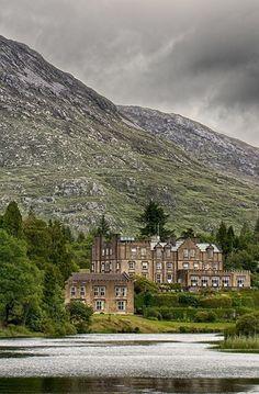 Ballynahinch Castle in Ireland. #AmazingCastles #IrishCastles