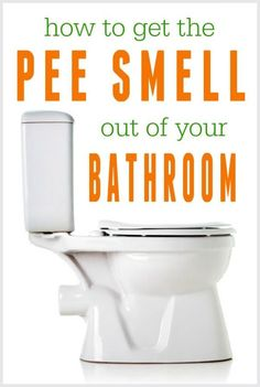 9 ways to get the pee smell out of your bathroom