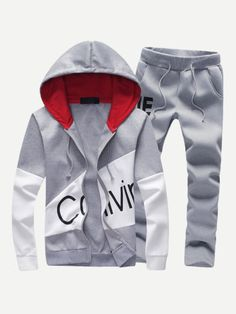 8ee15149e7719a Mens sporting suits tracksuit men set sportswear sweatsuit male sweat track  suit warm jacket hoodie with pants