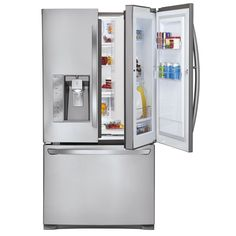 The LG Door-in-Door Fridge. How brilliant is this? Quick access to your family's go-to food and drinks.