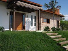 Modelos de fachada de casa de campo