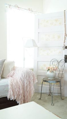 How to add Shabby Chic style to your home.  www.whitelacecottage.com  *Put a pin on it*
