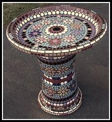 Garden Mosaics... A Fun Way To Enhance Your Garden