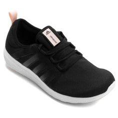 bdbee2c2a1e Tênis Adidas Cc Fresh Bounce - Preto+Rosa Tenis Nike Feminino Preto