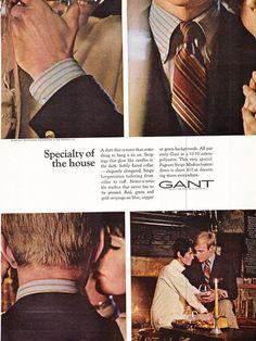 GANT 1949 vintage advertisements