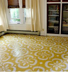 Painting Floors painted wood floors ideas | small galley kitchens, painted wood