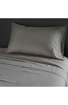 Donna Karan Collection 'Silk Essentials' Habutai Silk Fitted Sheet available at #Nordstrom