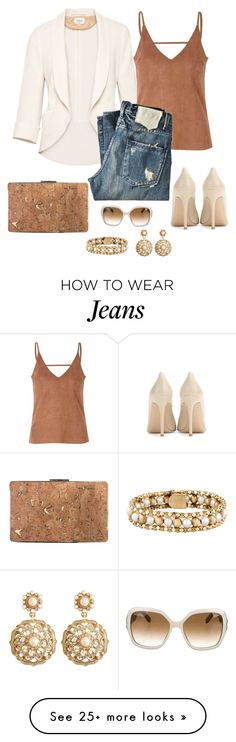 """""""Untitled #966"""" by gallant81 on Polyvore featuring Wilfred, Glamorous, Gianvito Rossi, Sondra Roberts, Brooks Brothers and Salvatore Ferragamo"""