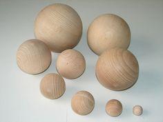 Holzkugeln Buche versch. Größen ohne Bohrung B-Ware Holzkugel Kugeln Basteln