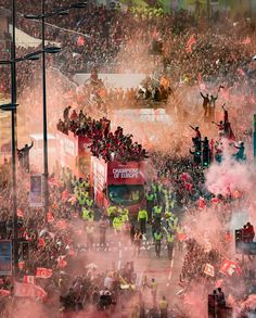 Unbelievable, thank you Reds! #YNWA 🏆