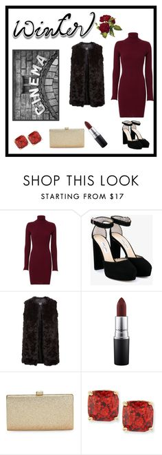 """""""Untitled #94"""" by irishdancer12202 ❤ liked on Polyvore featuring Autumn Cashmere, Jimmy Choo, New Look, MAC Cosmetics, La Regale, Kate Spade and Pottery Barn"""