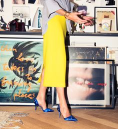 """One of the things that's nice about my job, having an opportunity to work on J.Crew between mens, womens, kids and Madewell, there is just so much going on and everyday is different."" http://www.thecoveteur.com/jenna-lyons/"