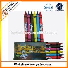 Customize promotional gift crayons and pencil sets drawing crayon pens