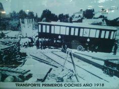 Metro de Madrid - Transporte de los primeros coches 1918 Madrid Metro, San Bernardo, Outdoor, Gift, Past Tense, Transportation, Cars, Historia, Outdoors