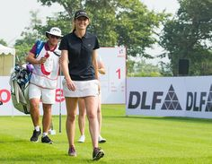 Four share lead at Hero Womens Indian Open @letgolf   Anne-Lise Caudal Florentyna Parker Ursula Wikstrom and Christine Wolf fired first rounds of two-under-par 70 on the challenging Gary Player Course at DLF Golf and Country Club in Gurgaon on Friday to take lead in the 10th Hero Womens Indian Open.  Parker made an excellent start in the early haze with birdies on her first two holes which were the 10th and 11th. She then birdied the 13th to get to three-under-par but double bogeyed the…