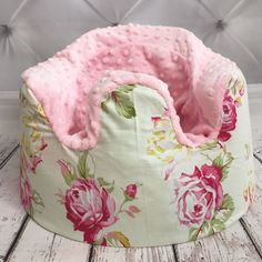 Dress up your babys bumbo with this ultra soft bumbo cover. Slips right over the seat with an elastic bottom. Adds comfort and style while still being fully functional. We use the highest quality Minky which is softer and more plush than the Minky fabric found in your local craft store. Eating trays can still go on over the cover. Covers are a great gift for yourself or for that special baby in your life! Also great for second time moms who have the opposite gender and dont want to buy a new…