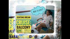 Genting Dream Cruise   Balcony Stateroom#gentingdreamcruise#dreamcruise - YouTube My Dream, Balcony, Cruise, Youtube, Cruises, Balconies, Youtubers, Youtube Movies
