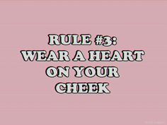 How to be a Heartbreaker -G.