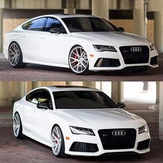 """""""GAME OVER""""  Audi RS7 with Vossen Forged wheels"""