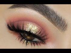 Cranberry Glitter    Huda Beauty Desert Dusk Palette - YouTube