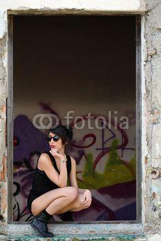 Ballerina alla finestra
