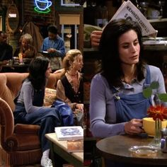 Monica Geller's Most Iconic Outfits Estilo Rachel Green, Rachel Green Outfits, Early 90s Fashion, Fashion Tv, Fashion Outfits, Classic Outfits, Retro Outfits, Cute Outfits, Courtney Cox