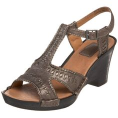 Clarks Womens Luster Weave SandalGrey Metallic11 M US -- You can find more details by visiting the image link. (This is an affiliate link) #WomensHeeledSandals