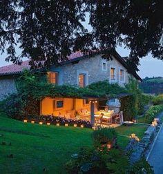 Il suono della natura, cibo genuino e una casa accogliente...