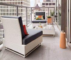 Idea Interiors Montreal: 10 Design tricks for your city terrace!
