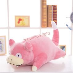 """zhouxiaolin2010  Pocket Monster Pokemon 12"""" Slowpoke Plush Toy Kids Anime Stuffed Doll Gift  Product Detail  Material:PP Cotton  Size: about 12''(30cm)  Package:with OPP Bag  Condition : New Brand  Shipping Policy Payment Mathord Returns About ..."""