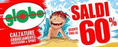 #Saldi Tuffati e lasciati travolgere dalla grande ondata di saldi!!! Scopri le date di inizio nella tua regione su: http://www.globomoda.com