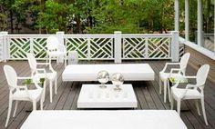 fretwork deck railing