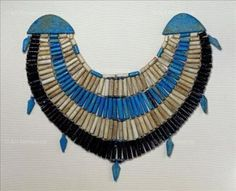 Necklace with amulets; tomb of Princess Khnemet (ca. 1922 - 1878 B.C.) Egyptian.