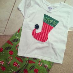 Are you hustling trying to find that perfect PERSONALIZED Christmas T shirt or PJ's for your Child for Christmas???   STOP.....   I've looke...
