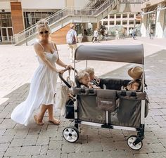 It's Labor Day weekend, WonderFold Wagons are perfect for those long days with the family!